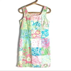 Lilly Pulitzer | Palm Beach Patchwork dress | 6